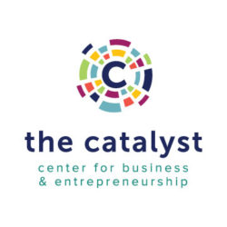 The Catalyst logo vertical 2