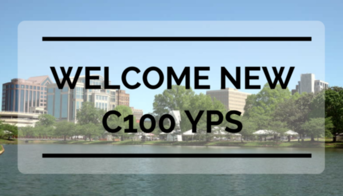 Welcome newC100 YPs